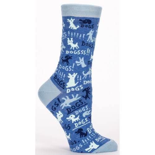 Blue Q - Dogs! Crew Socks | Women's
