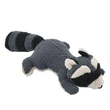 Tall Tails Raccoon with Squeaker Toy