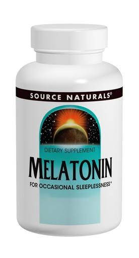 Source Naturals Melatonin Dietary Supplement - 5mg, Peppermint, 50 Tablets