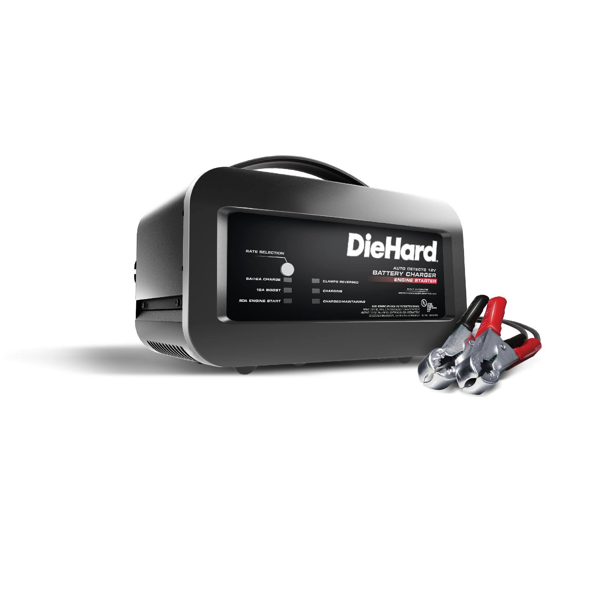 Diehard Automatic Battery Charger - 12V, 10 Amp