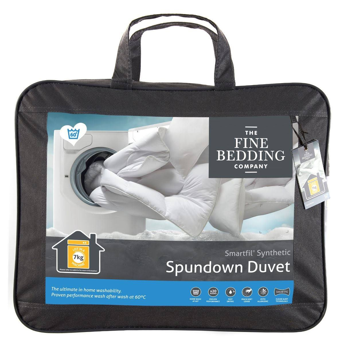 """Spundown"" Duvet in 4.5/7.0/10.5 & 13.5 tog values"