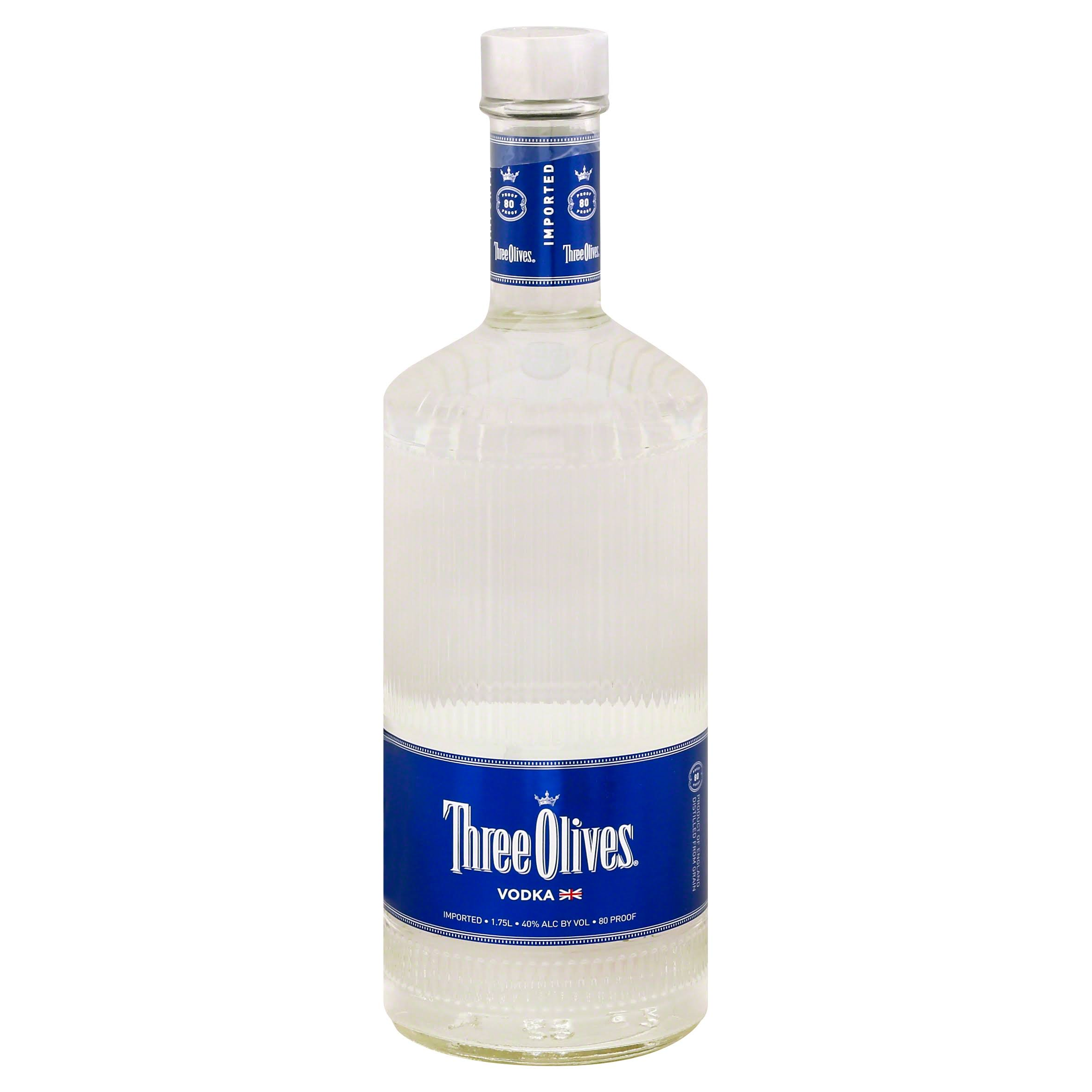 Three Olives Vodka - 1.75 L bottle