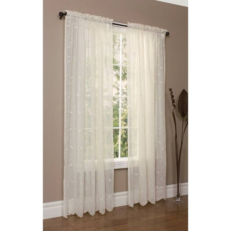 Hathaway Tailored Curtain Panel in Cream