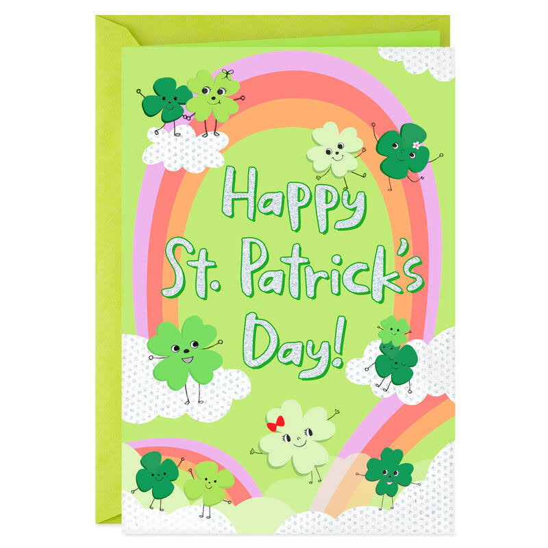 Rainbow of Fun for Sweet Little You St. Patrick's Day Card