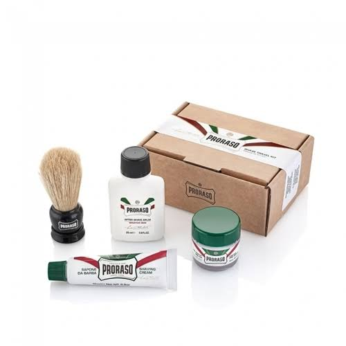 Proraso Shave Travel Kit - 4pk