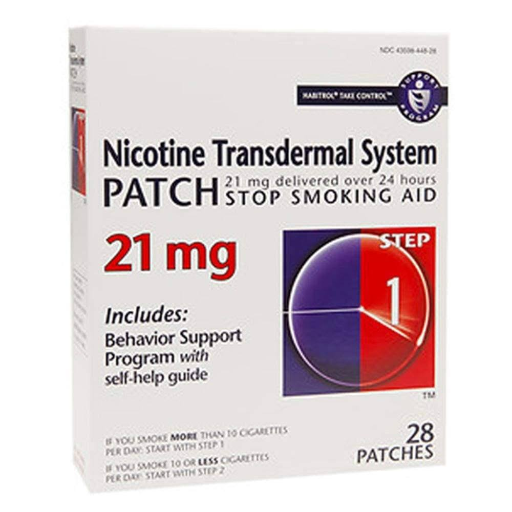Habitrol Nicotine Transdermal System Step 1 Smoking Aid - 28 Patches