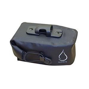 Serfas Monsoon Waterproof Roll Top Saddle Bag - Medium, Black