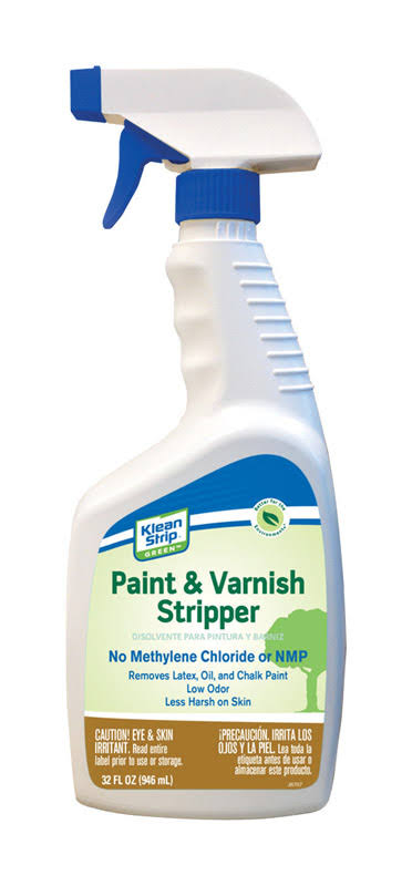 Klean Strip Green Paint and Varnish Stripper 32 oz.