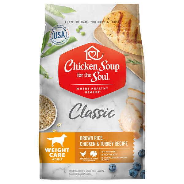 Chicken Soup for The Soul Weight Care Dry Dog Food - 28-lb