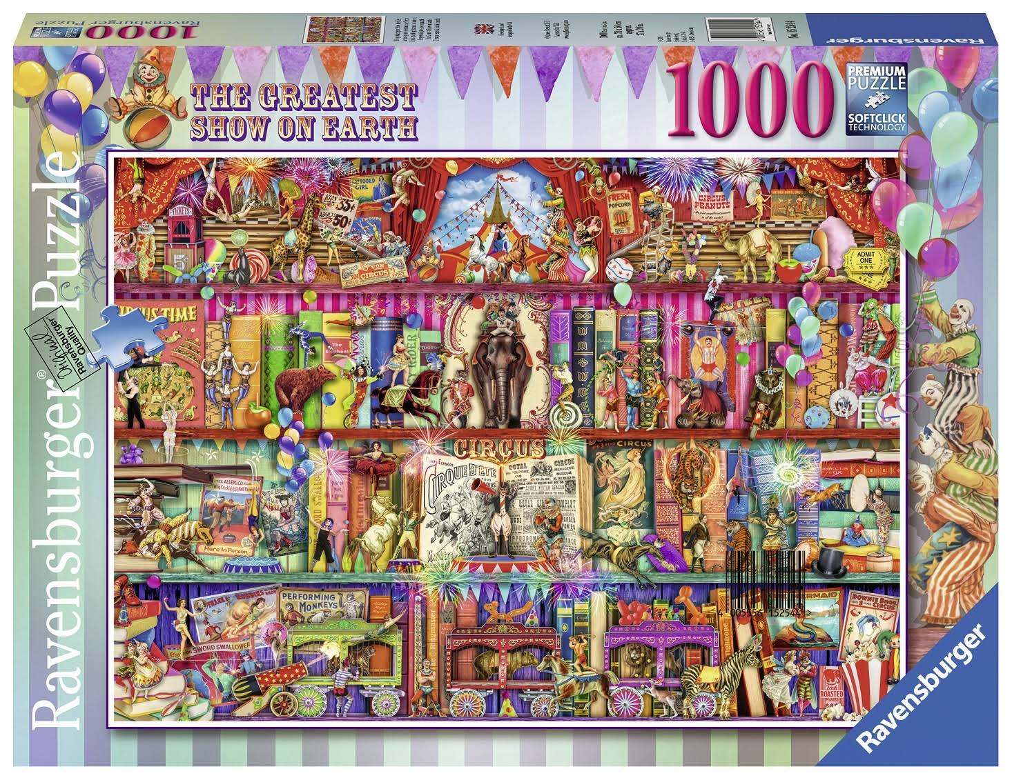 Ravensburger 15254 The Greatest Show on Earth Jigsaw Puzzle - 1000pcs
