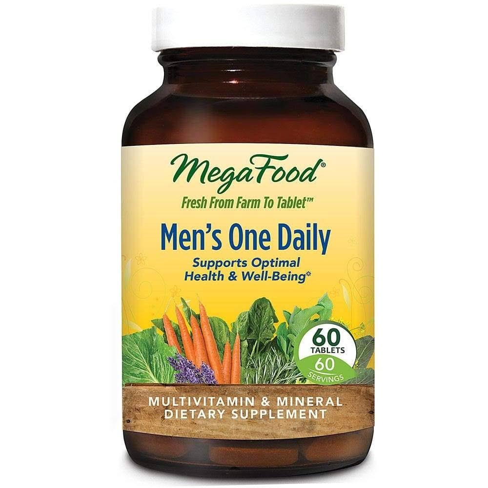 MegaFood - Men's One Daily - 60 Tablets
