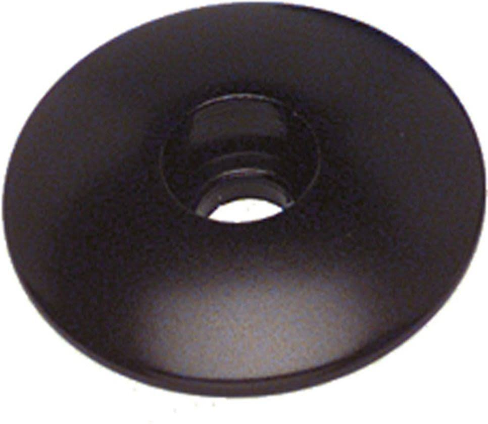 Problem Solvers Top Cap - Black, Alloy, 1""