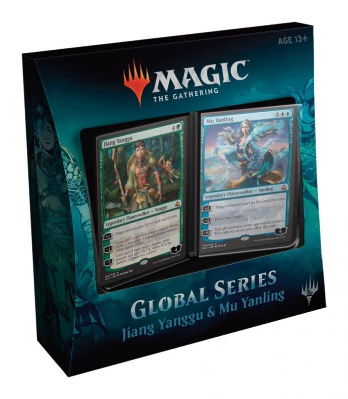 Magic Global Series Deck Trading Cards - Jiang Yanggu and Mu Yanling