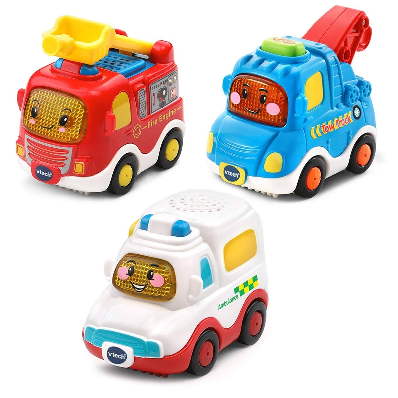 Vtech Toot-Toot Drivers 3 Car Pack - Emergency Vehicles