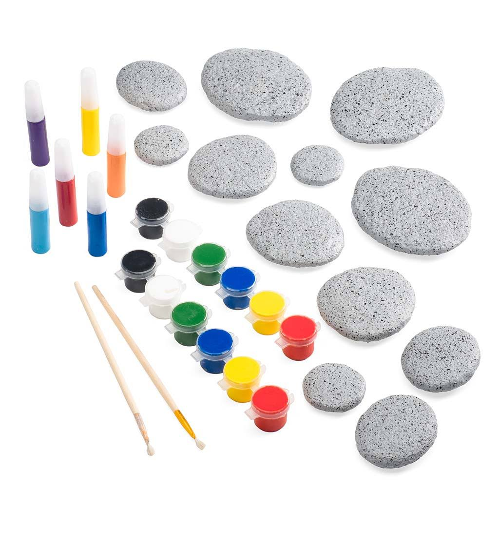 Hearthsong Color Pops Paint-Your-Own Rock Mandalas