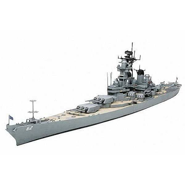 Tamiya 31614 Us Battleship Uss New Jersey BB-62 Model Kit - 1/700 Scale