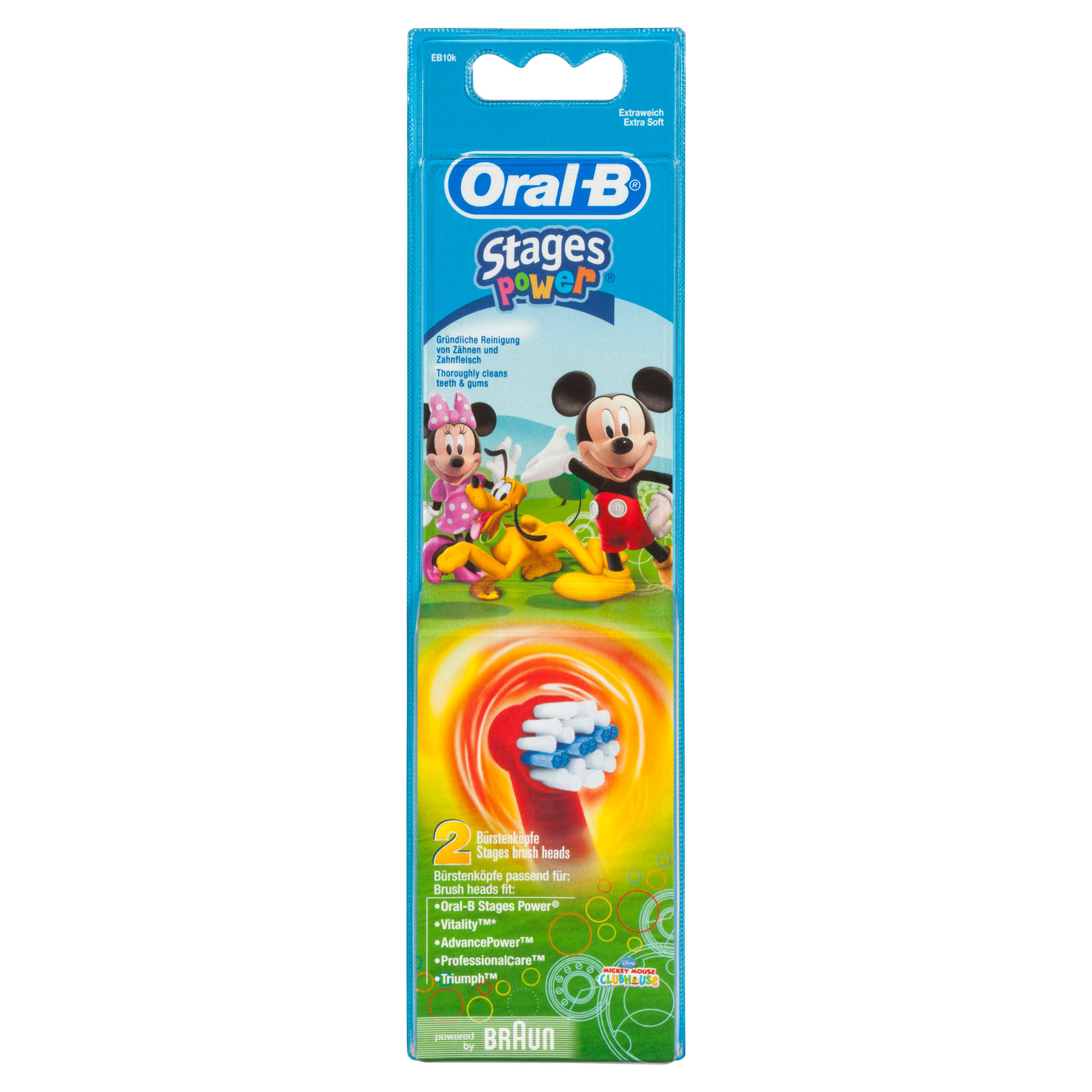 Oral-B Kids Heads Toothbrush - 2pk
