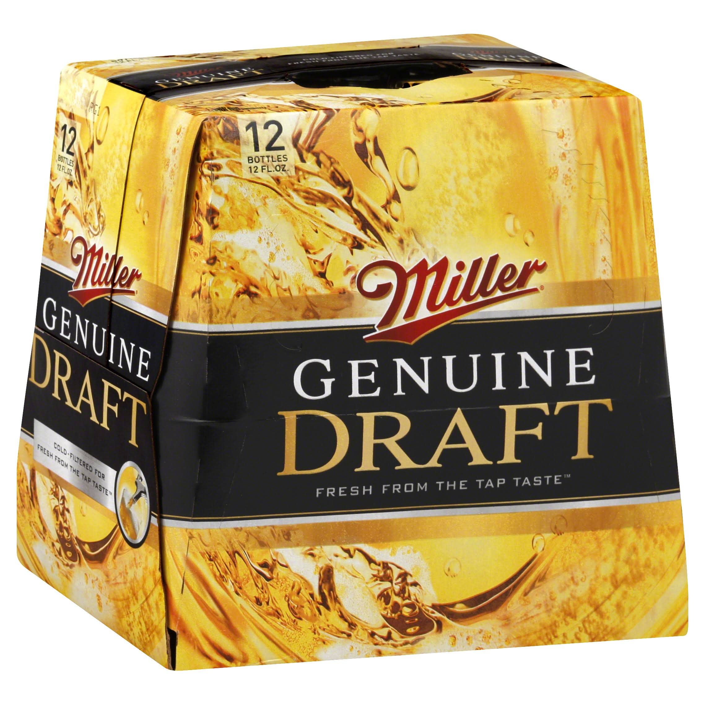 Miller Genuine Draft Beer - 12pk, 12oz