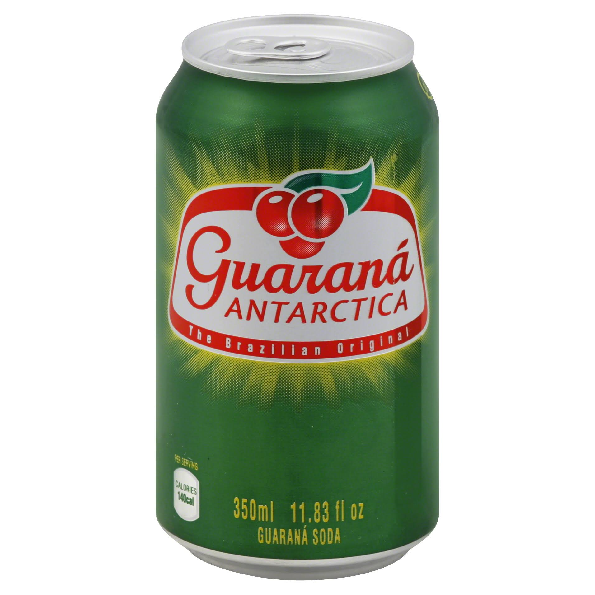 Guarana Antarctica Soda - 11.83oz, Pack of 12