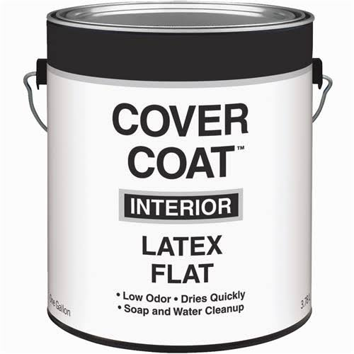 Guardian Contractor Grade Flat White Latex House Paint - 1 Gal