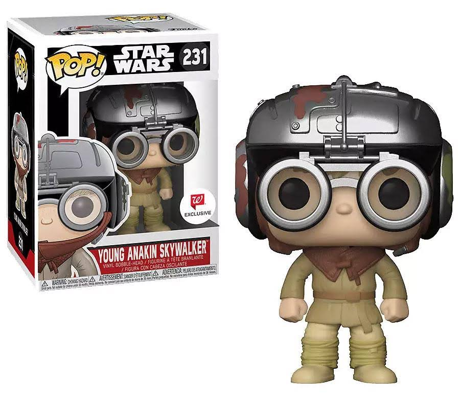 Funko Pop Star Wars: Young Skywalker #231 Walgreens Exclusive
