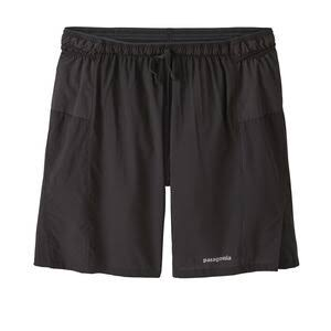 "Patagonia Men's Strider Pro Shorts - 7"" Black M"