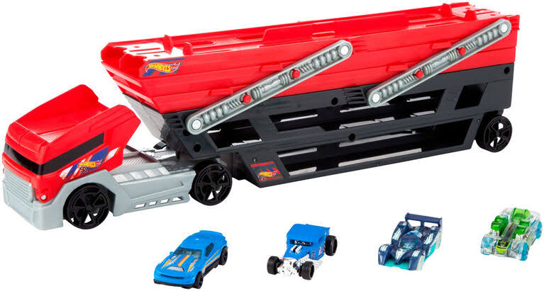 Hot Wheels Toy, Mega Hauler Vehicle
