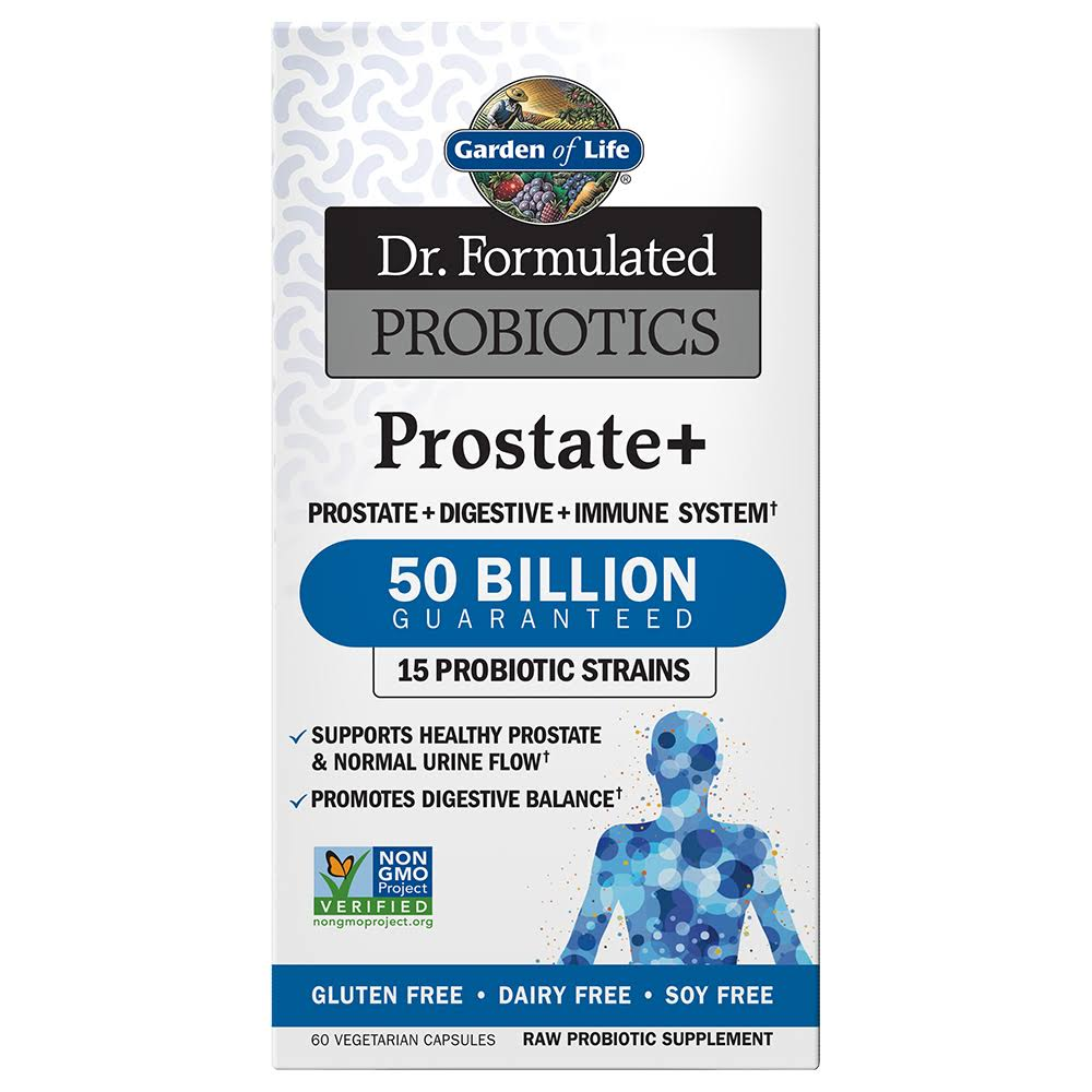 Gardeon of Life Dr. Formulated Probiotic Prostate Plus - 60 Vegetarian Capsules