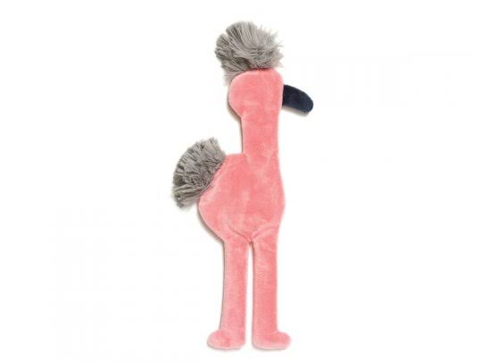 West Paw Design Mingo Squeak Toy For Dogs - Pink