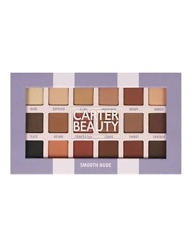 Carter Beauty Smooth Nude Eyeshadow Palette - 18 Shades