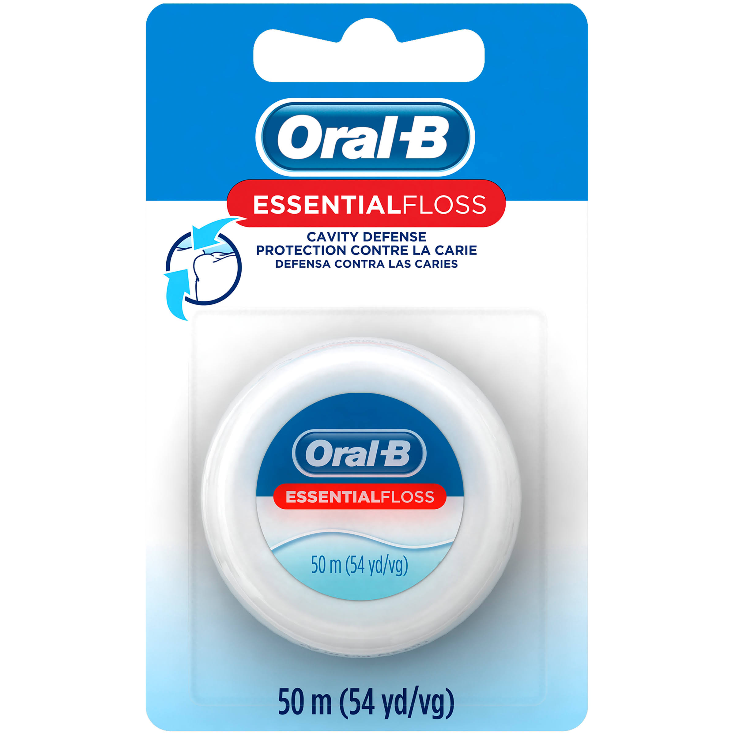 Oral-B Essential Floss - 54yds, Pack of 24