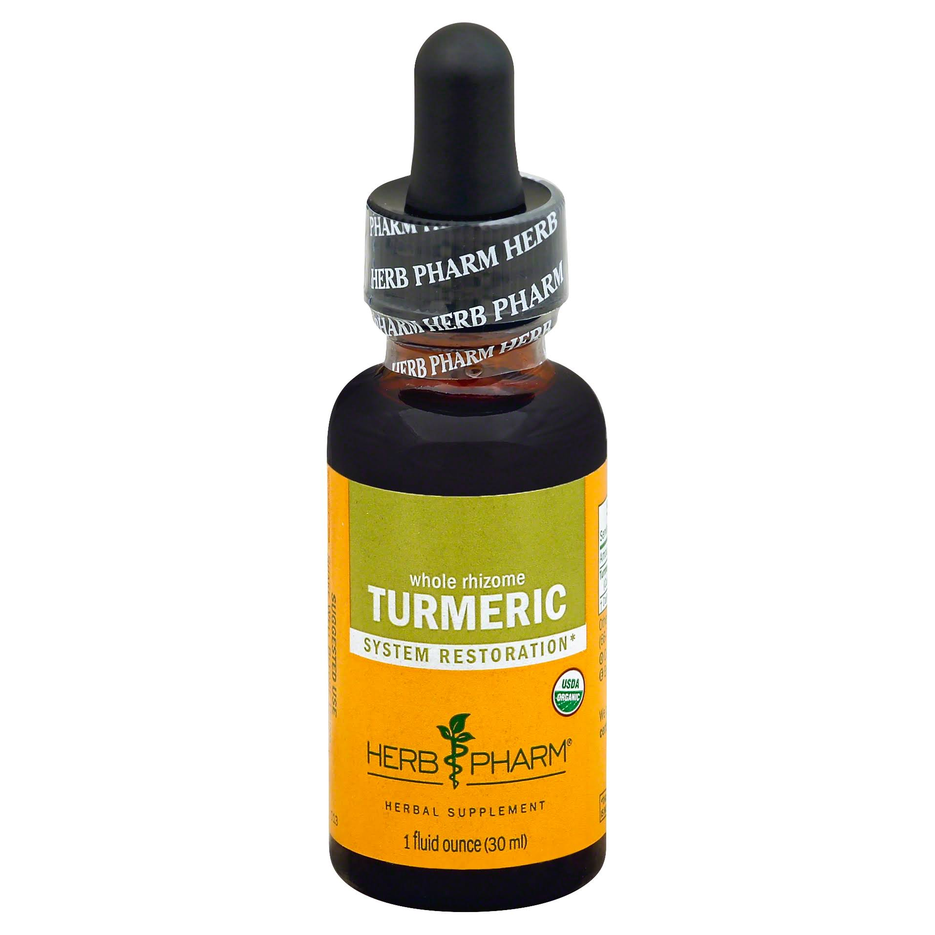 Herb Pharm Certified Organic Turmeric Root Extract - 30ml
