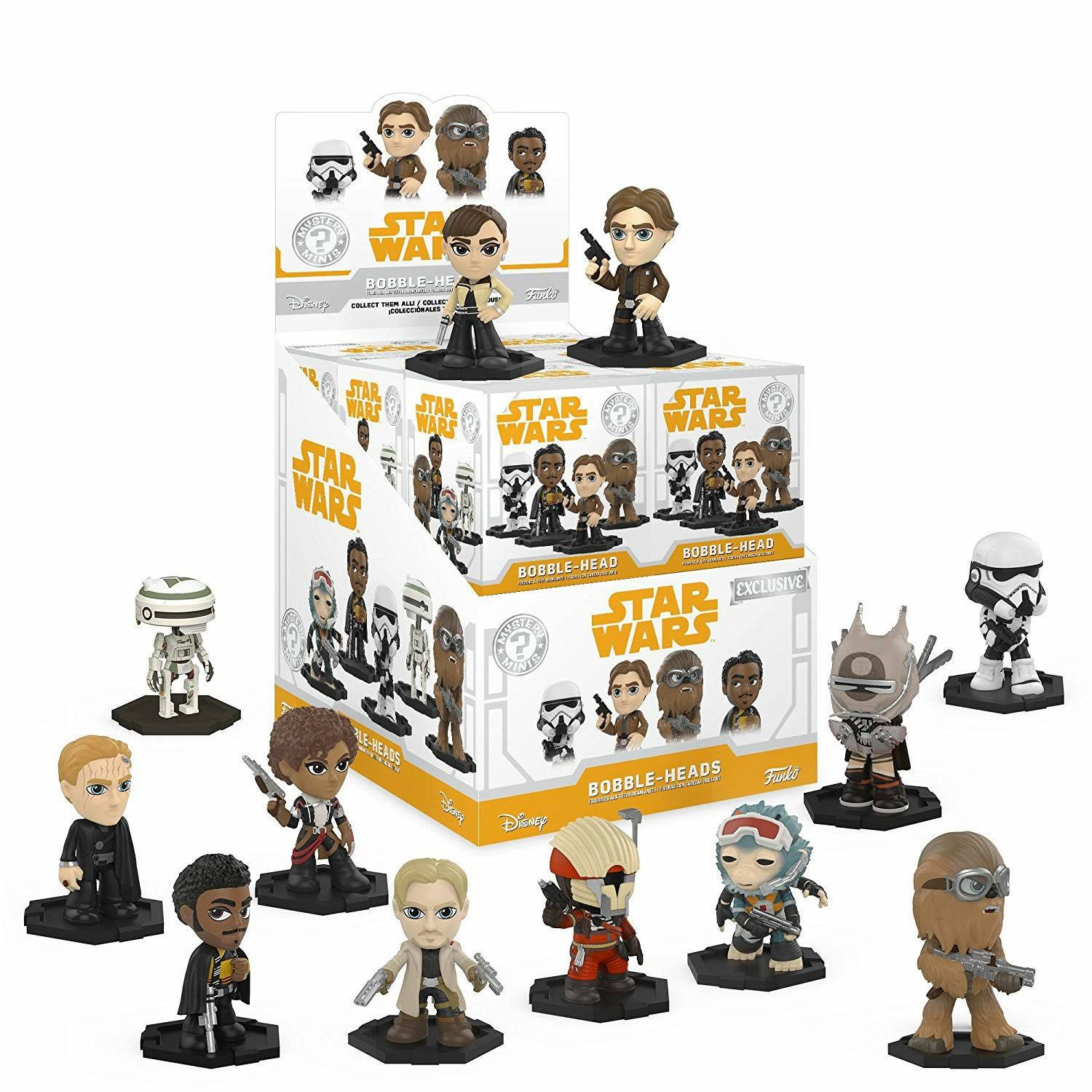 Funko Mystery Mini Star Wars Solo Series 1 - 1 Blind Box