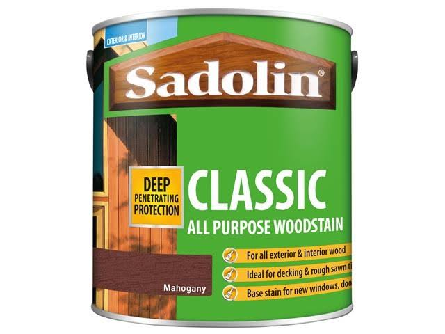 Sadolin Classic Wood Protection - 2.5L, Mahogany