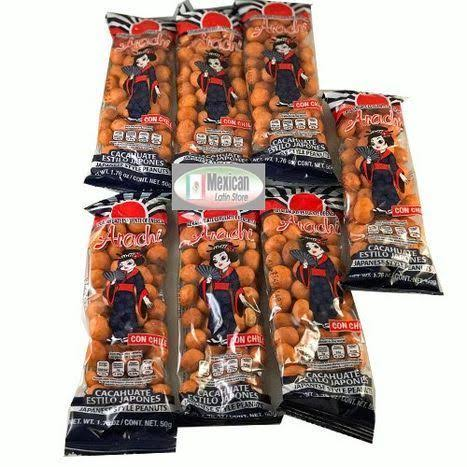 Arachi Japanese Style Peanuts W Chili Cacahuate