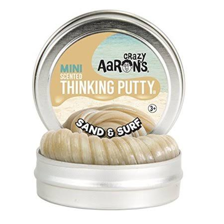 Crazy Aaron's Thinking Putty Sand & Surf Scented Mini Tin