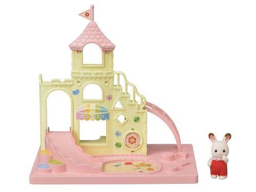 Calico Critters Baby Castle Playground Doll House Playset