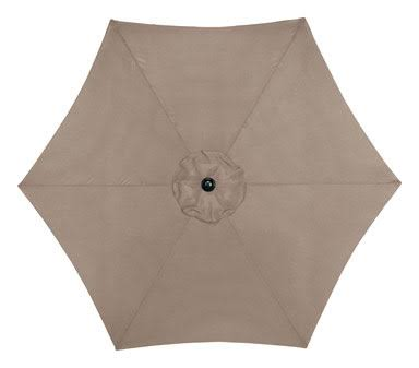 Living Accents 9ft Taupe Market Umbrella