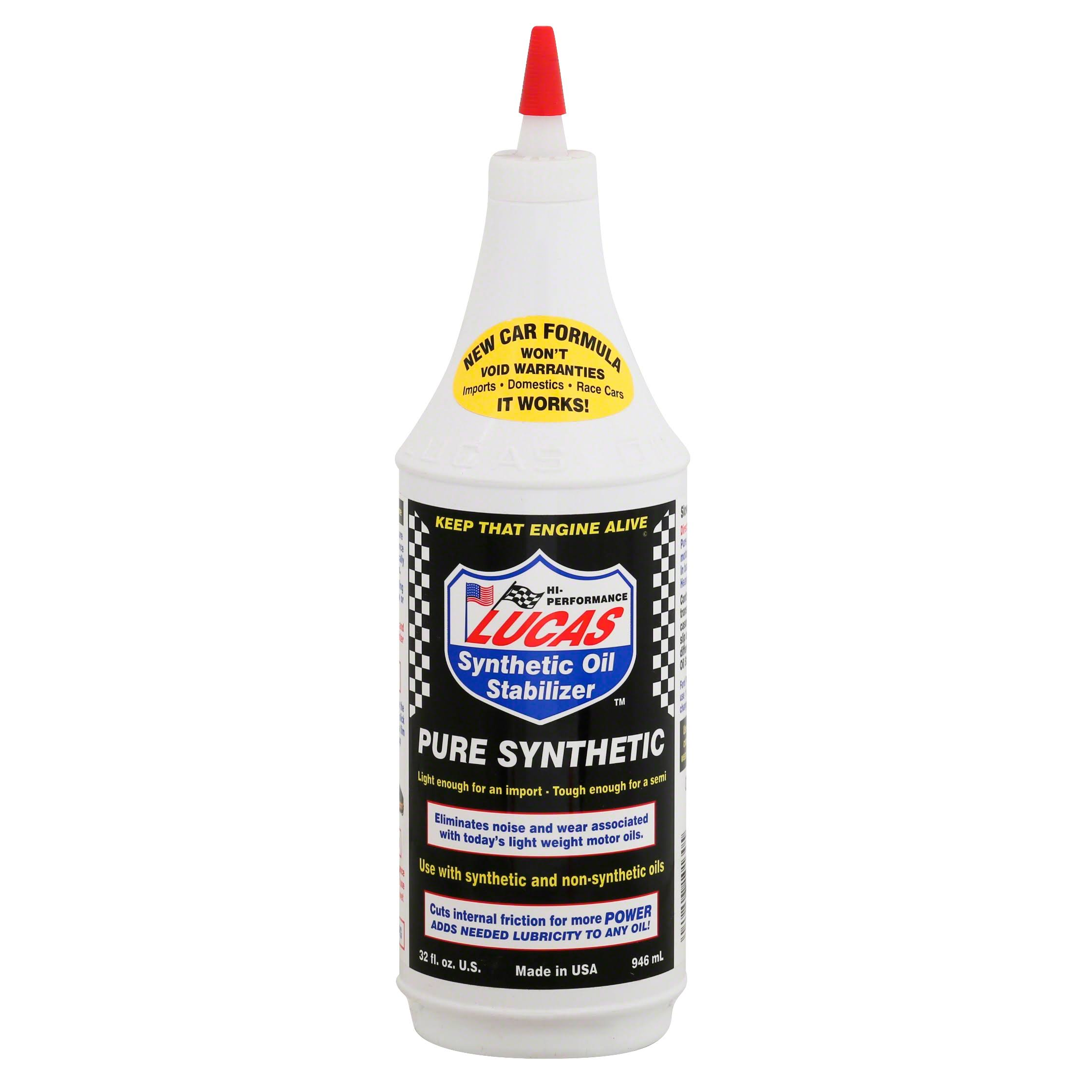 Lucas Synthetic Oil Stabilizer Pure Synthetic - 940ml