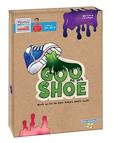 Playmonster Goo on My Shoe A Game Created for Kids, by A Kid!