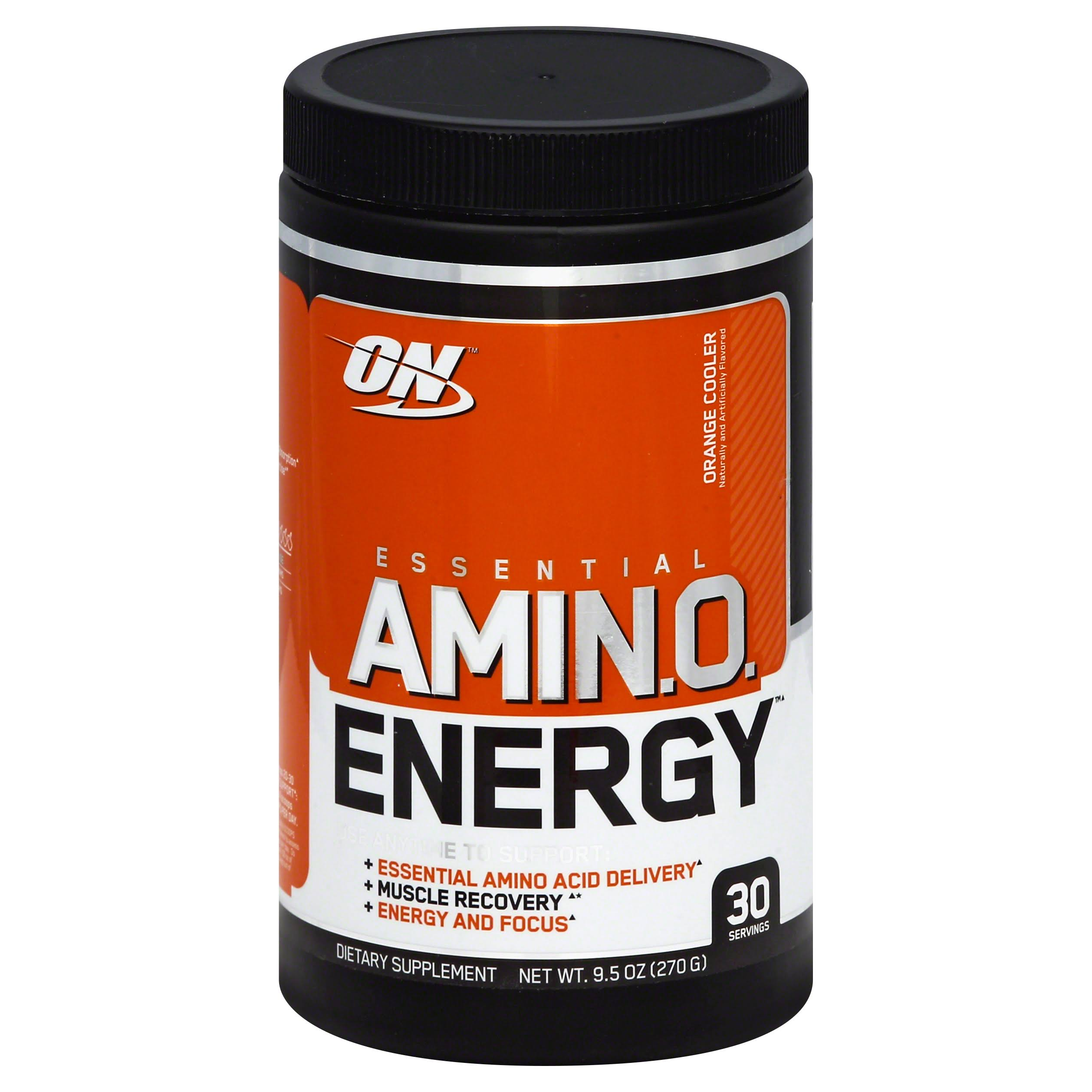 Optimum Nutrition Essential Amino Energy - Orange Cooler, 30 Servings