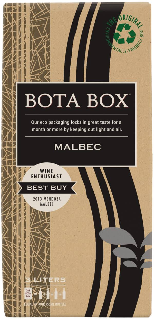 Bota Box Malbec, California, 2018 - 3 liters