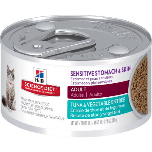 Hill's Science Diet Sensitive Stomach and Skin Canned Cat Food - 2.9oz