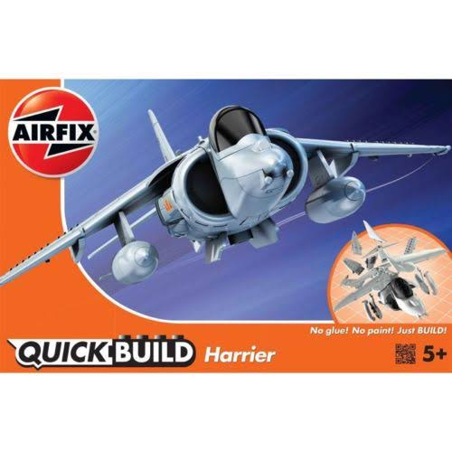 Airfix Quick Build Harrier Aircraft Model Kit