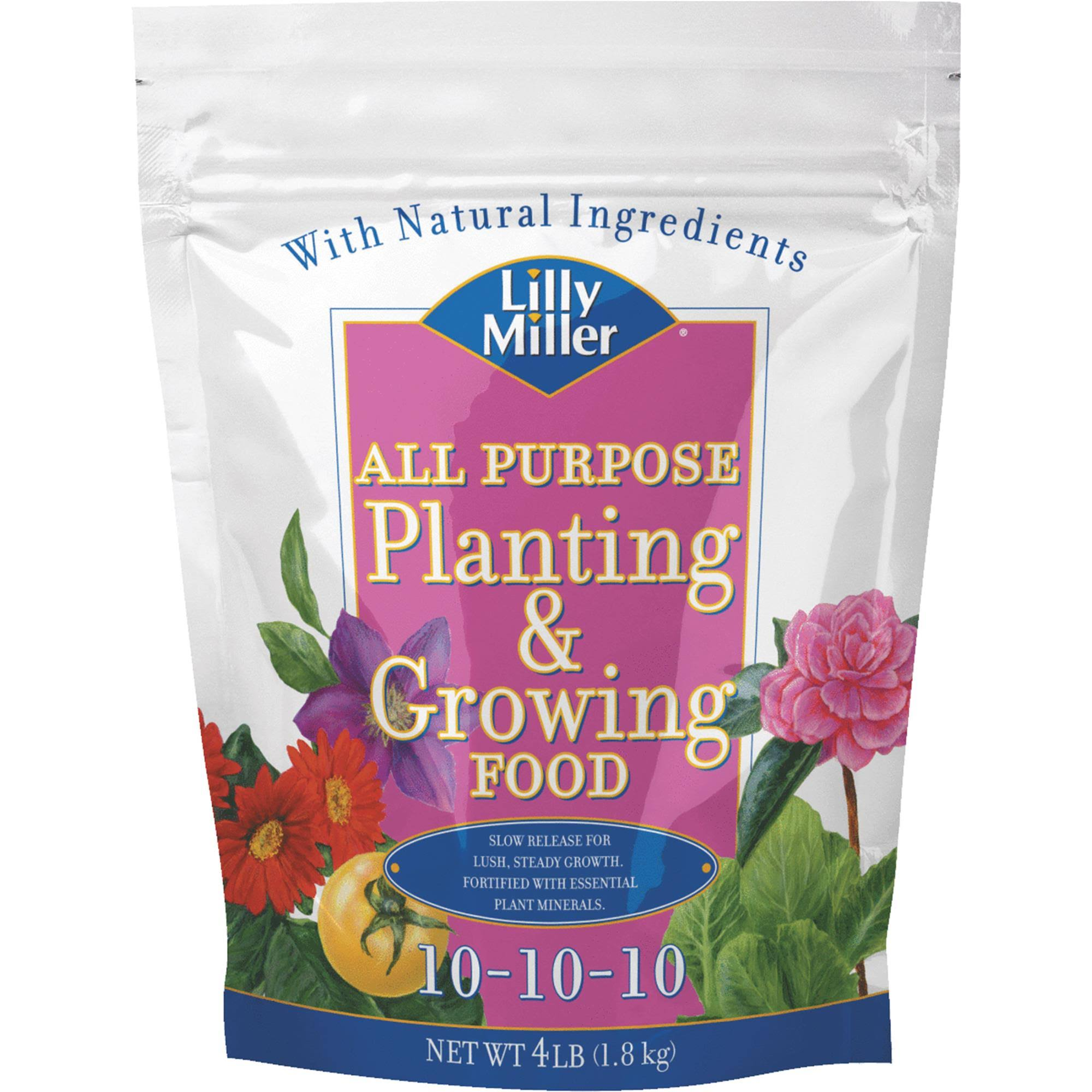 Lilly Miller All Purpose Planting and Growing Food 10-10-10 Fertilizer - 4lbs