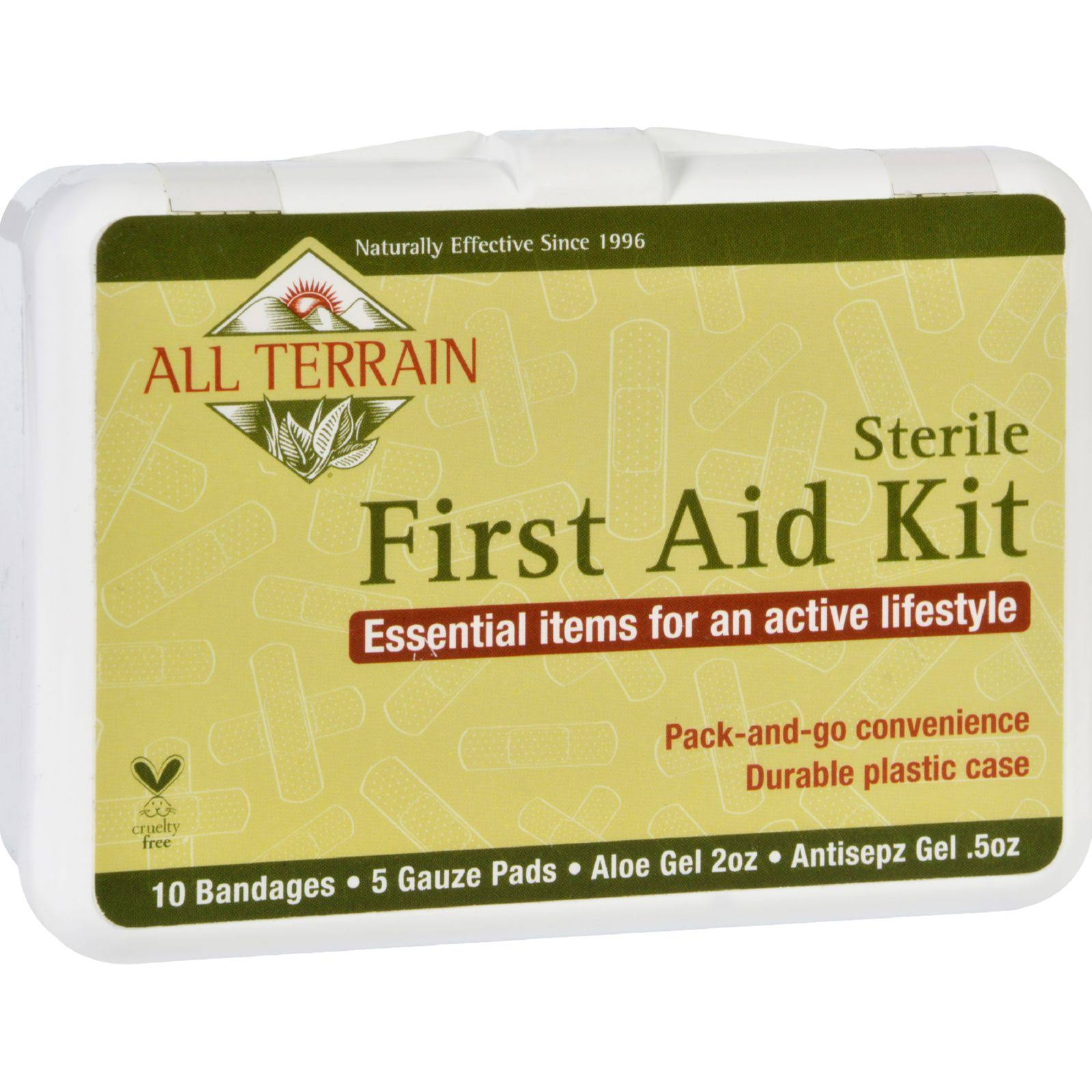 All Terrain 6017 First Aid Set - 5pcs