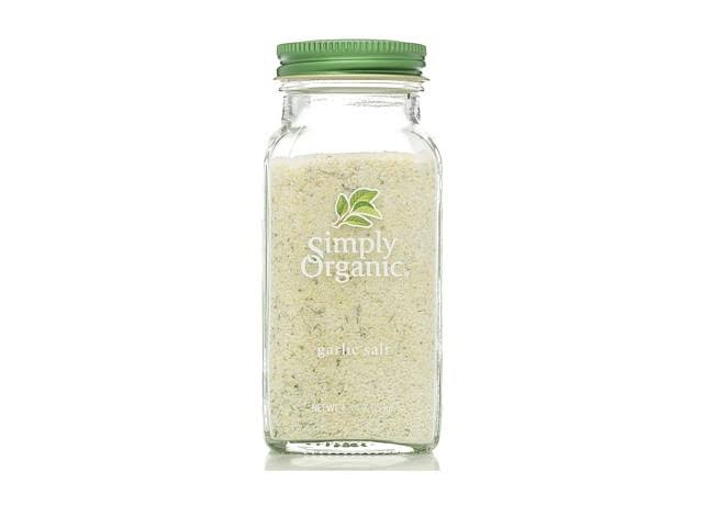 Simply Organic Garlic Salt - 133g
