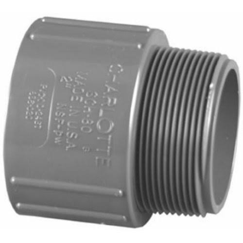 Charlotte Pipe 1-in Dia Pvc Sch 80 Adapter