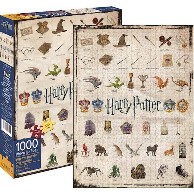 Aquarius Harry Potter Icons Jigsaw Puzzle - 1000pcs