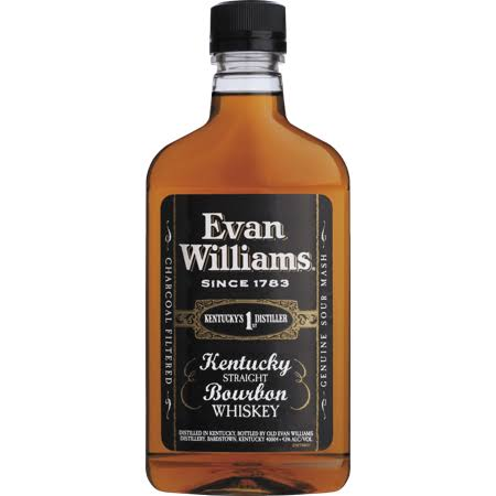 Evan Williams Black Label Bourbon Whiskey - 375 ml